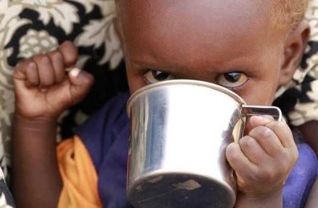 Бедни деца в Африка