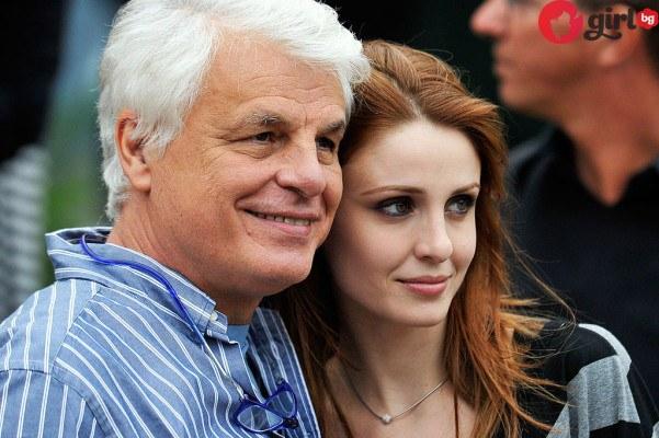 Микеле Плачидо и жена му