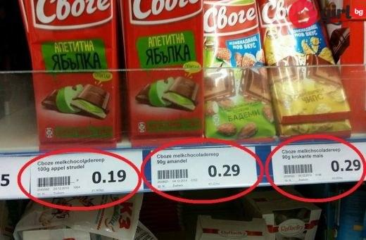 как ни цакат с цените
