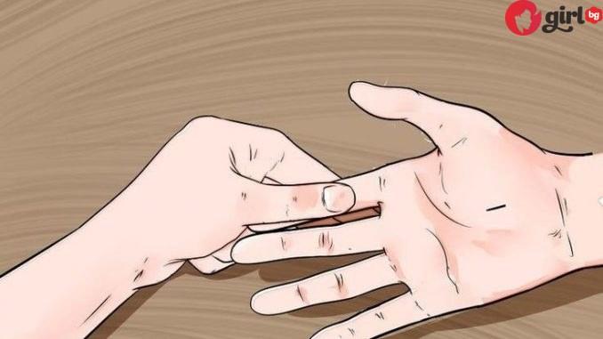 пръст на ръката