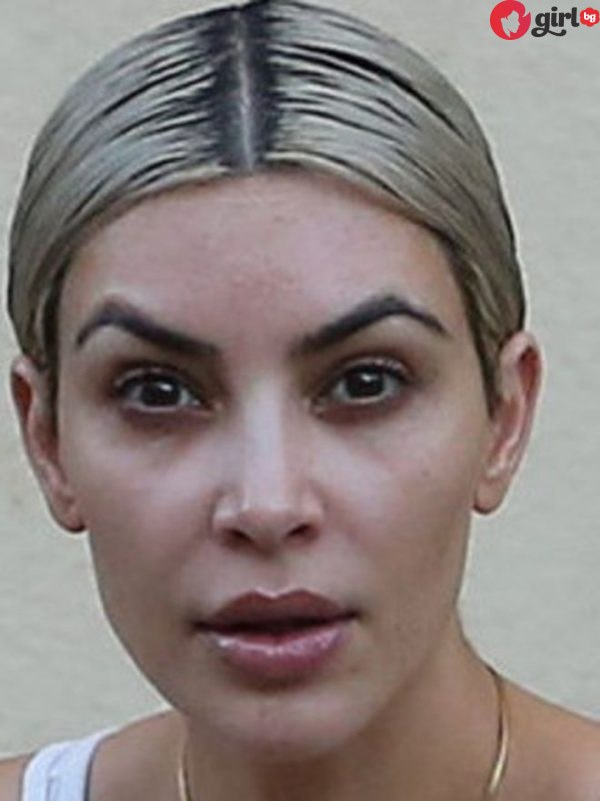 Ким Кардашиян без фотошоп