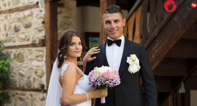 жената на българският Роналдо