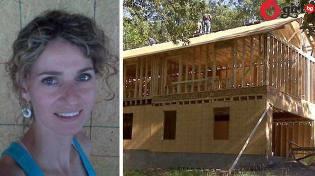 майка построи къща сама