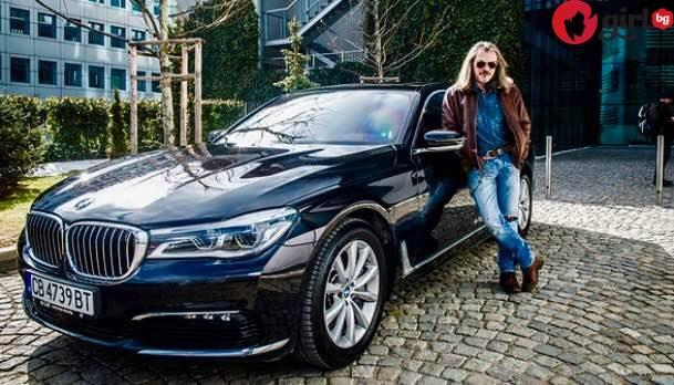 Новото BMW на Маги Халваджиян