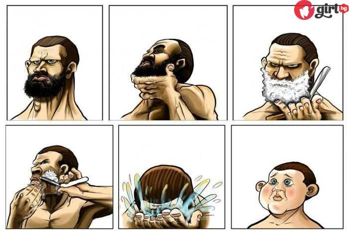 въпроси за бръсненето