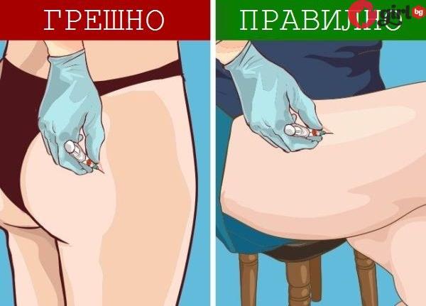 как да бием инжекция