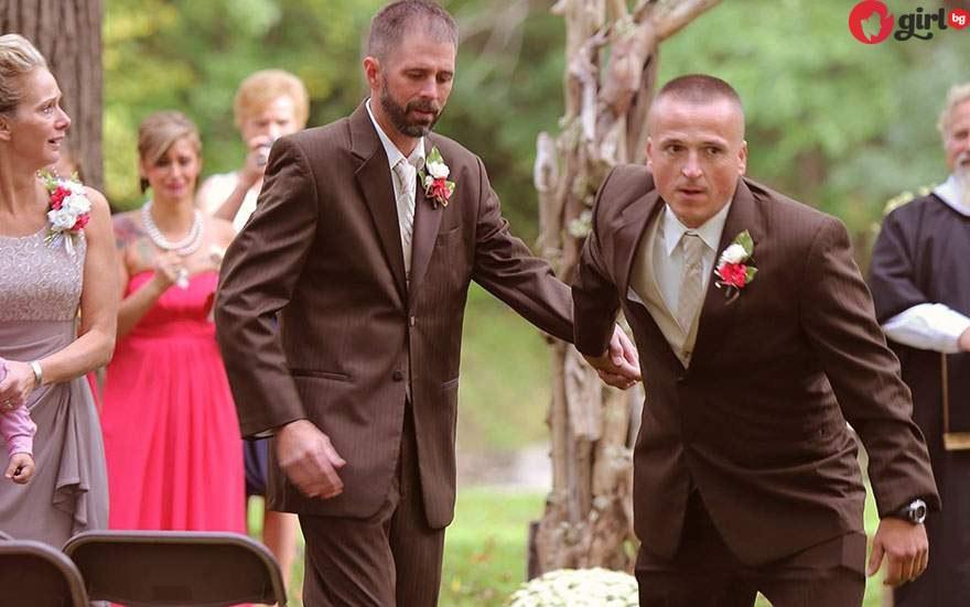 спря сватбената церемония