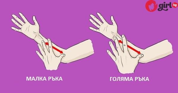 малка голяма ръка