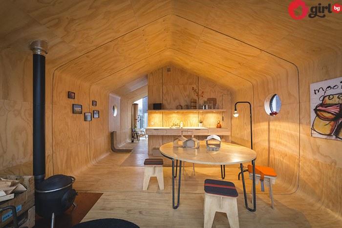 Къща от картон