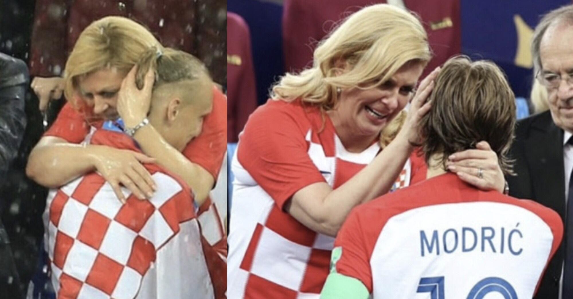 сексапилната хърватска президентка