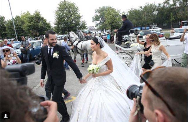 Сина на Лепа Брена сватба