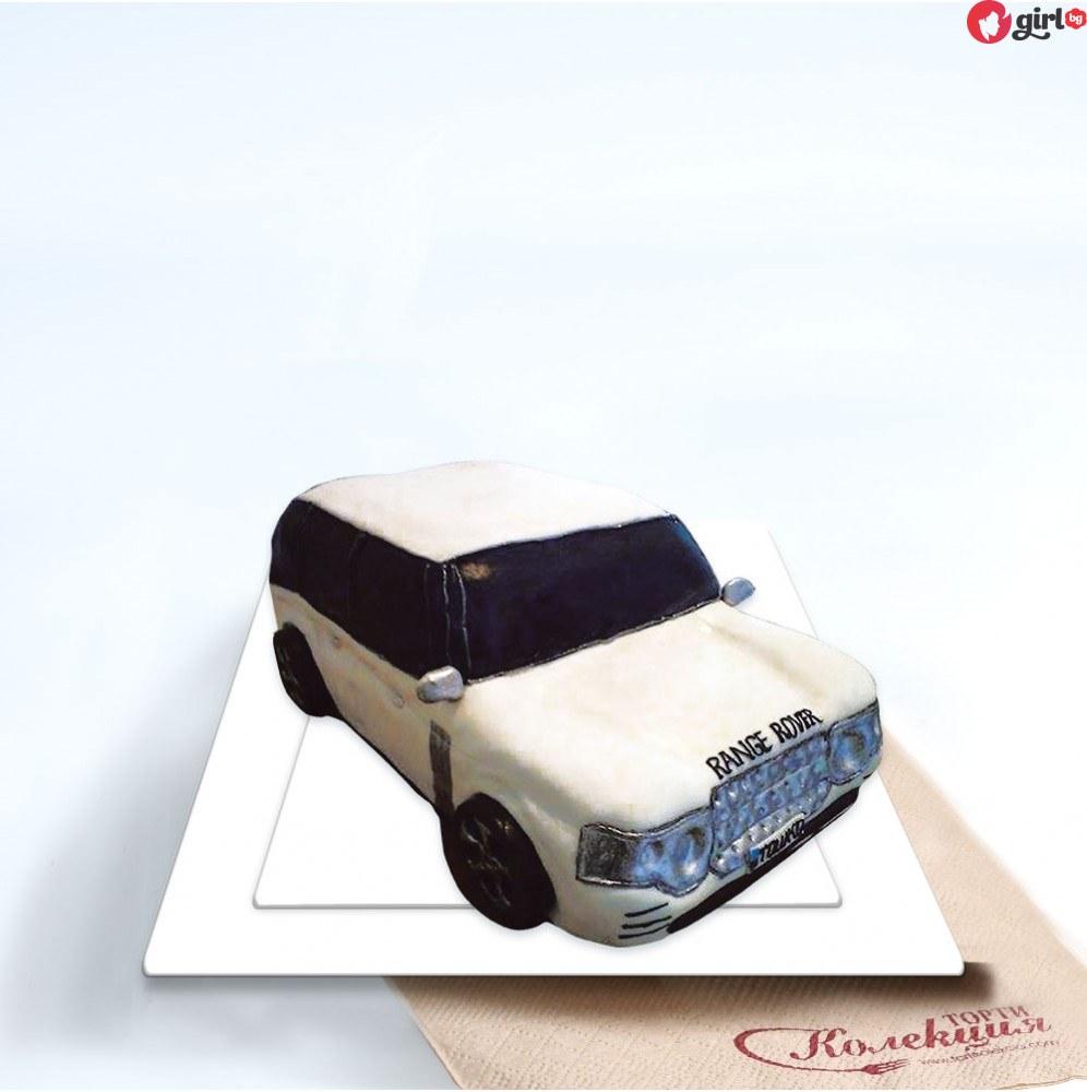 Торта автомобил