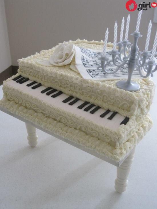 Торта пиано