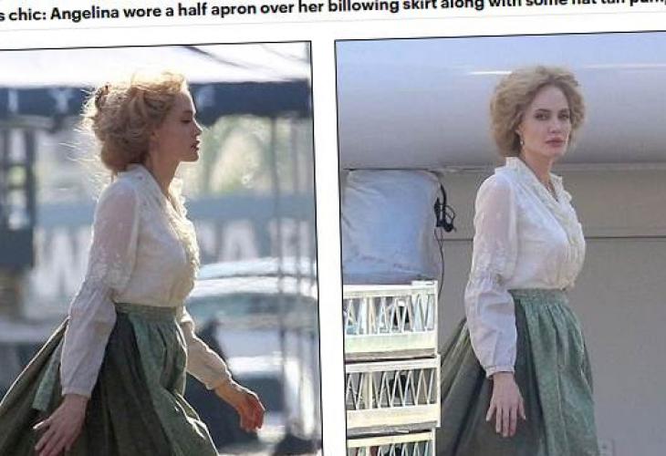 Анджелина Джоли стана блондинка заради новия си филм