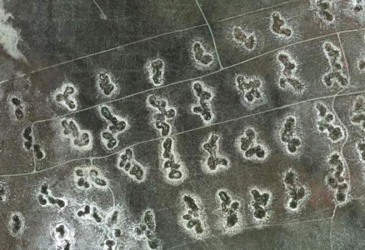 Спътник засне мистериозен гигантски надпис в Юта (ВИДЕО)