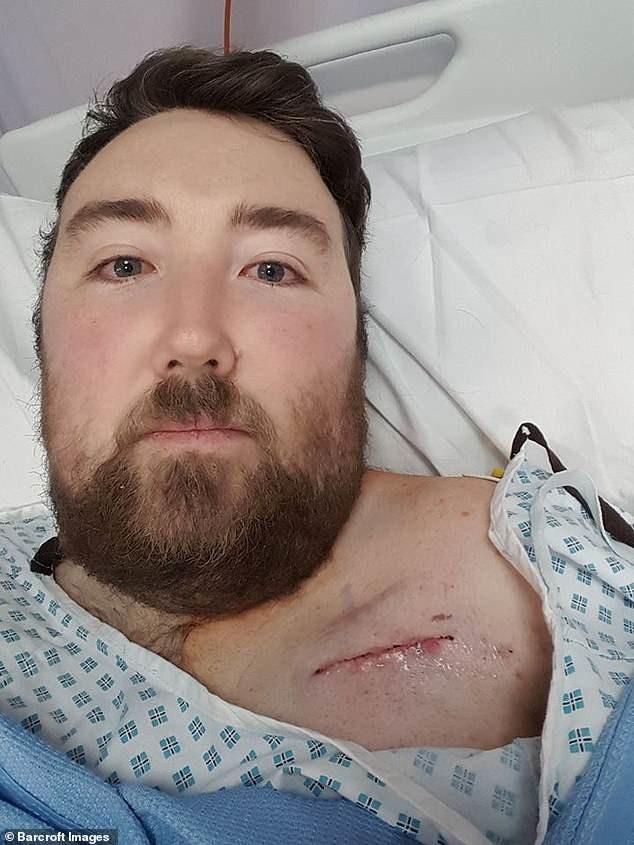 29-годишният Джейми: Умрях 9 пъти и не знам защо все още съм жив (СНИМКИ)